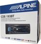 Alpine CDE-193BT