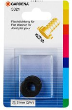 """Gardena Flachdichtung für Schlauchverschraubung 1/2 """" 5 Stk (5321-20)"""