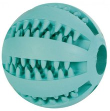 Trixie DENTAfun Baseball Mintfresh Naturgummi (7 cm)