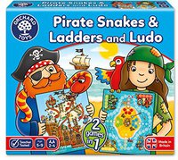 Orchard Toys Pirate Snakes and Ladders & Ludo (englisch)
