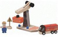 Plan Toys PlanCity - Turmkran Set