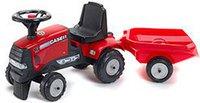 Falquet & Cie Traktor Case IH CVX 120 mit Anhänger