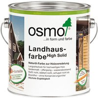 Osmo Landhausfarbe 0,75 l Zeder / Rotholz