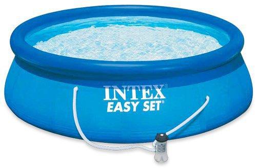 intex pools easy pool set 366 x 91 cm preisvergleich ab 74. Black Bedroom Furniture Sets. Home Design Ideas