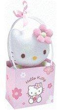 Hello Kitty Geschenktäschchen mit Hello Kitty Figur 14 cm