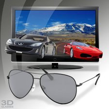 Thumbs Up 3D Polarised Glasses