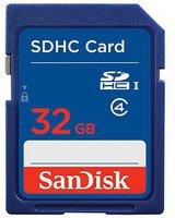 SanDisk Standard SDHC 32GB Class 4 (SDSDB-032G-B35)