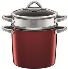 Silit Vitaliano Rosso Pastatopf mit Deckel 24 cm
