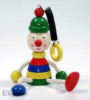 Hess Spielzeug Schwingfigur Clown (14710)