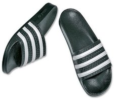 online store a11cf 263bb Adidas Adilette schwarzweiß günstig online kaufen ab 23,90 €