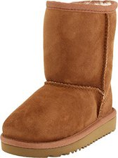 UGG Kid's Bailey Button chestnut