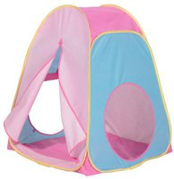 Worlds Apart Pop Out Tent - pink