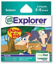 Leap Frog Explorer Phineas And Ferb
