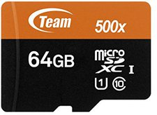 Team Group microSDXC 64GB Class 10 UHS-1 (TUSDX64GUHS03)