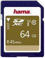 Hama SDXC 64GB Class 10 UHS-I (00114944)