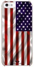 White Diamonds Flag Case USA (iPhone 5)