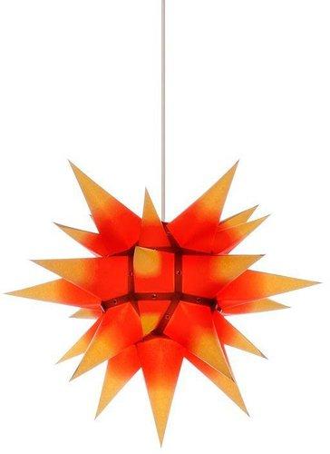 Herrnhuter Sterne I4 Kern rot - gelbe Spitzen (40 cm)