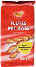 Dorati Flutes mit Käse (150 g)
