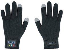 hi-Fun Hi-Call Bluetooth-Handschuhe für Smartphones (Herren, schwarz)