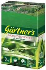 Pötschke Gärtner´s Unkrautvernichter mit Rasendünger 3 kg