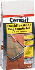Ceresit Hochflexibler Fugenmörtel silbergrau
