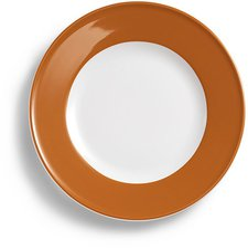 Dibbern Solid Color karamell Speiseteller 26 cm