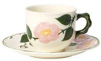 Villeroy & Boch Wildrose Kaffeetasse mit Untere 2 tlg.
