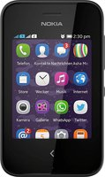 Nokia Asha 230 Dual SIM Schwarz ohne Vertrag