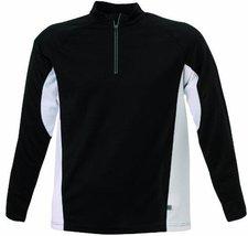 James & Nicholson Men's Running Shirt schwarz