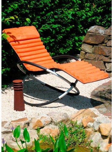 leco schaukelstuhlkissen terracotta preisvergleich ab 39 50. Black Bedroom Furniture Sets. Home Design Ideas