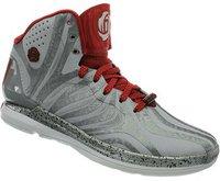Adidas D Rose 4.5 clear grey/light scarlet/dark onix