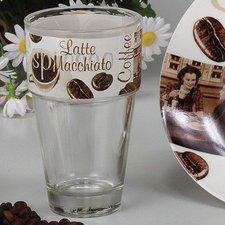 Domestic Latte Macchiato Glas