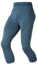 Odlo Pants 3/4 Evolution Warm Men blue sapphire / black