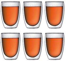 Bodum Pavina Glas doppelwandig 0,35 Ltr. 6er Set