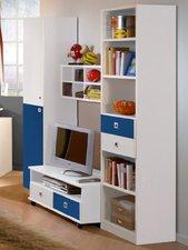 Wimex Wohnbedarf Kinderzimmer-Wohnwand Daylight - marineblau