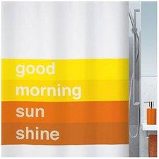 Spirella Duschvorhang Good Morning (180 x 200 cm)