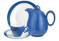 Seltmann Weiden Trio Kaffeekanne 6 Pers. blau