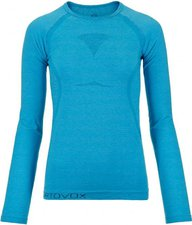 Ortovox Merino Competition Cool Long Sleeve Women blue ocean