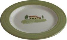 Zeller Keramik Bella Toscana Frühstücksteller 21 cm