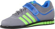 Adidas Powerlift 2 grey/neon green/solar blue