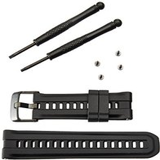 Garmin Ersatzarmband Silikon für fenix/quatix/tactix schwarz