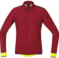 Gore Urban Run Windstopper Soft Shell Jacke ruby red