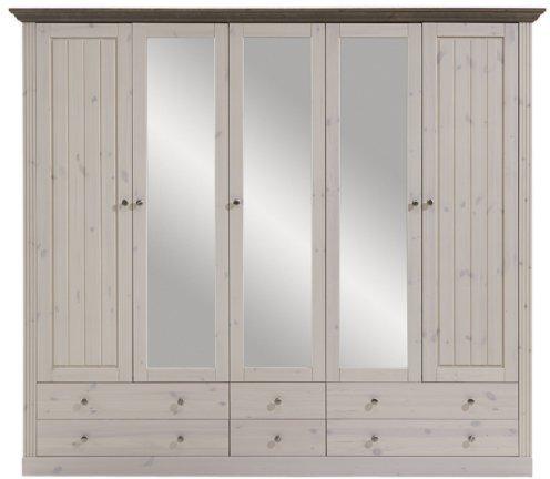 Steens Furniture Ltd Monaco 5trg. weiß grau