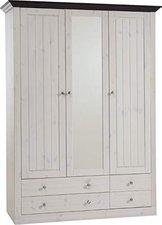 Steens Furniture Ltd Monaco 3trg. weiß kolonial