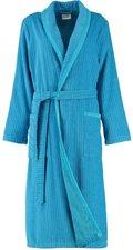 Cawö Damen Bademantel (6490) blau/türkis
