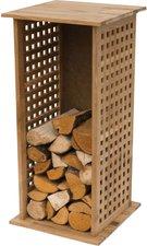 Lienbacher Kaminholzregal Holz 39x39x85 cm