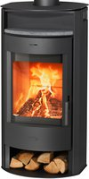 Fireplace Prag Stahl