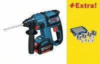 Bosch GBH 18 V-EC Professional 2 x 4,0 Ah + L-BOXX + 131 tlg. Set (0 615 990 H16)