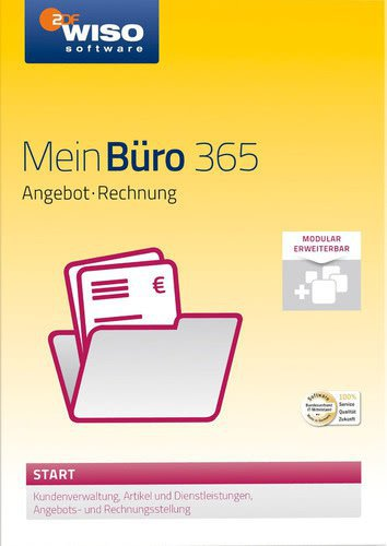 Buhl Data WISO Mein Büro 2016 (365 Start)