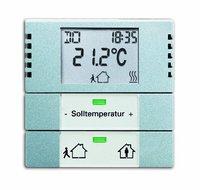 Busch-Jaeger Raumtemperaturregler Heiz-/Kühlbetrieb (6124-866)